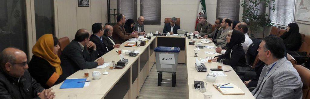 نخستین دوره انتخابات شورای توسعه و حمایت  ( سمن های) استان البرزبرگزار شد