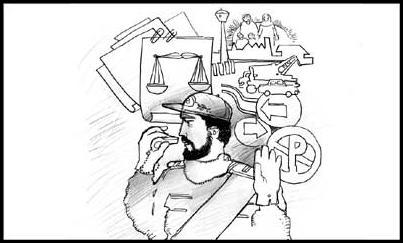 حقوق شهروندی و وظایف پلیس